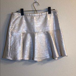 Flirty Express metallic skirt